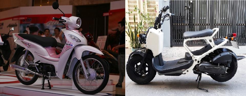 Những mẫu xe 50cc dành cho học sinh có mức giá dao động từ 20-35 triệu đồng. Đồ họa: M.H