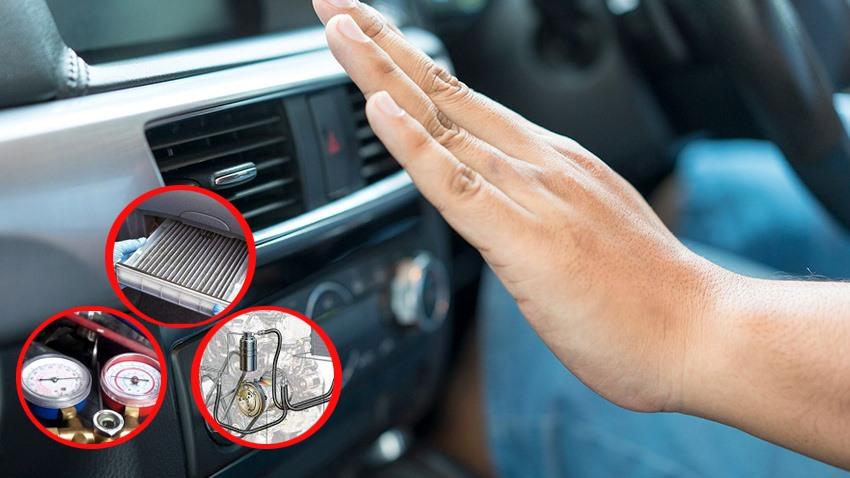 Ảnh minh họa điều hòa trên xe ô tô: Ảnh đồ họa TS