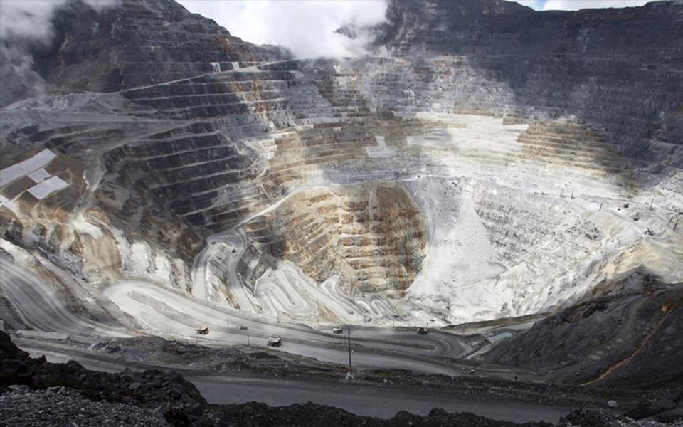 Grasberg ở Indonesia được xem là mỏ vàng lớn nhất thế giới.