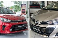 Xe chạy dịch vụ: Toyota Vios hay Kia Soluto mới thực sự là 'ông hoàng'?