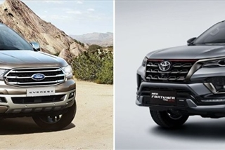 SUV 7 chỗ: Nên chọn Ford Everest hay Toyota Fortuner?