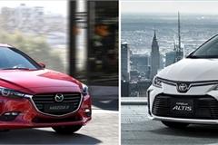 Vì sao Toyota Corolla Altis và Mazda 3 cũ được ưa chuộng?