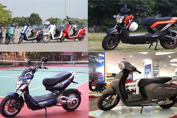 Một số mẫu xe máy điện được ưa chuộng năm 2021