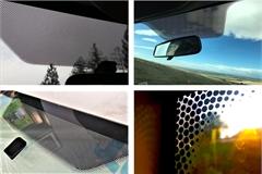 Dải chấm tròn đen trên kính ô tô có tác dụng gì?