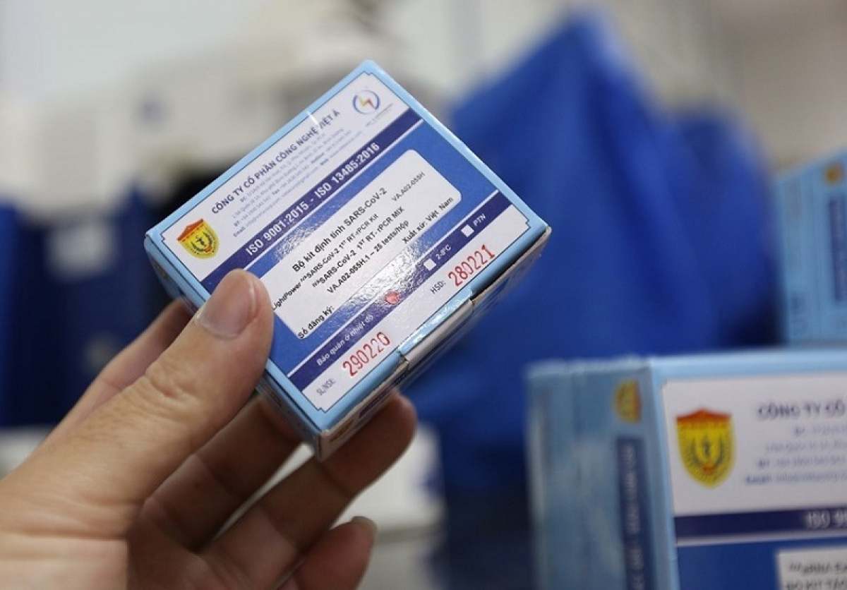 Vietnam's test kits have been ordered by more than 20 countries. Photo: VNA