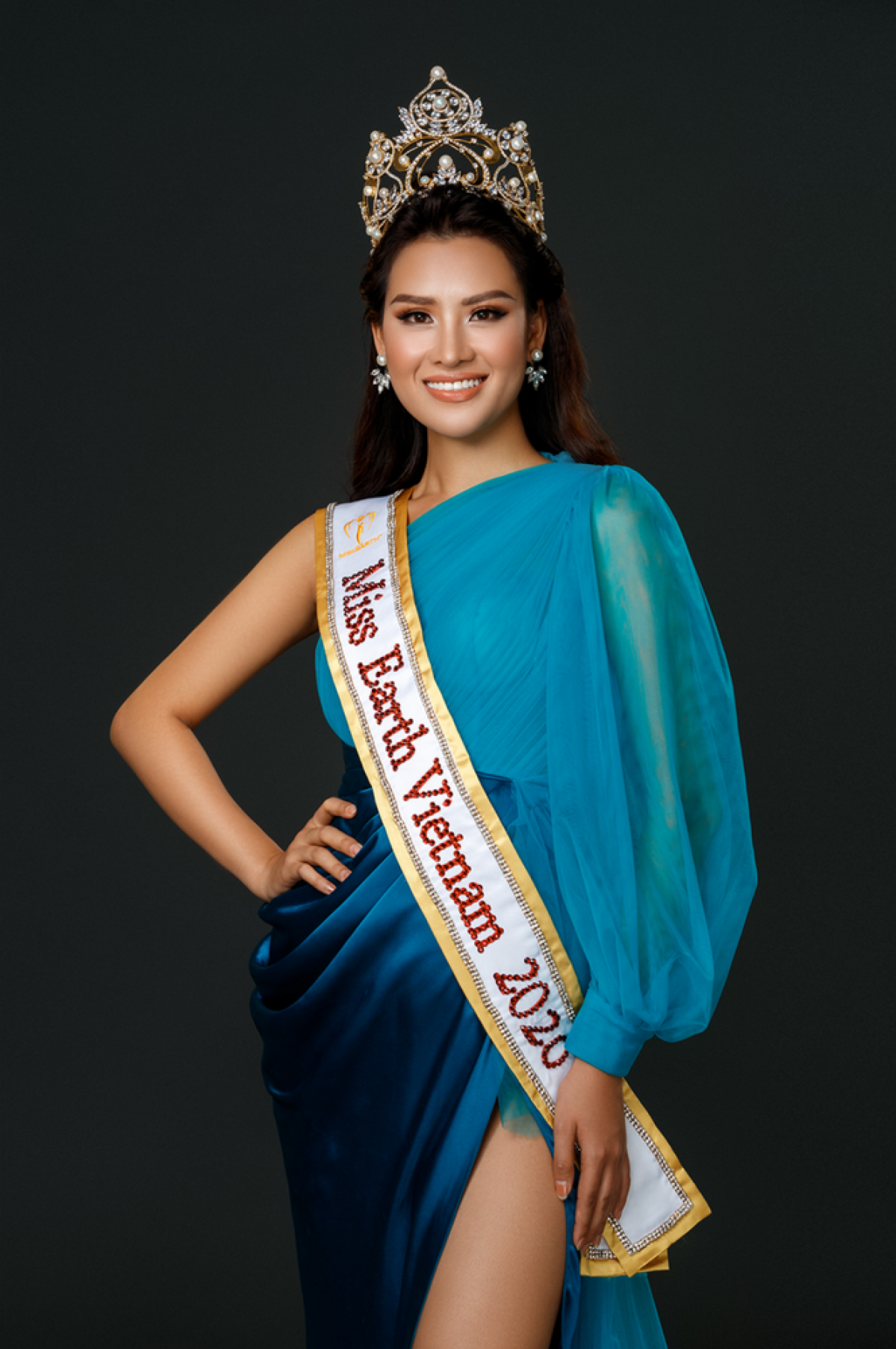 Thai Thi Hoa will represent the country to compete at Miss Earth 2020