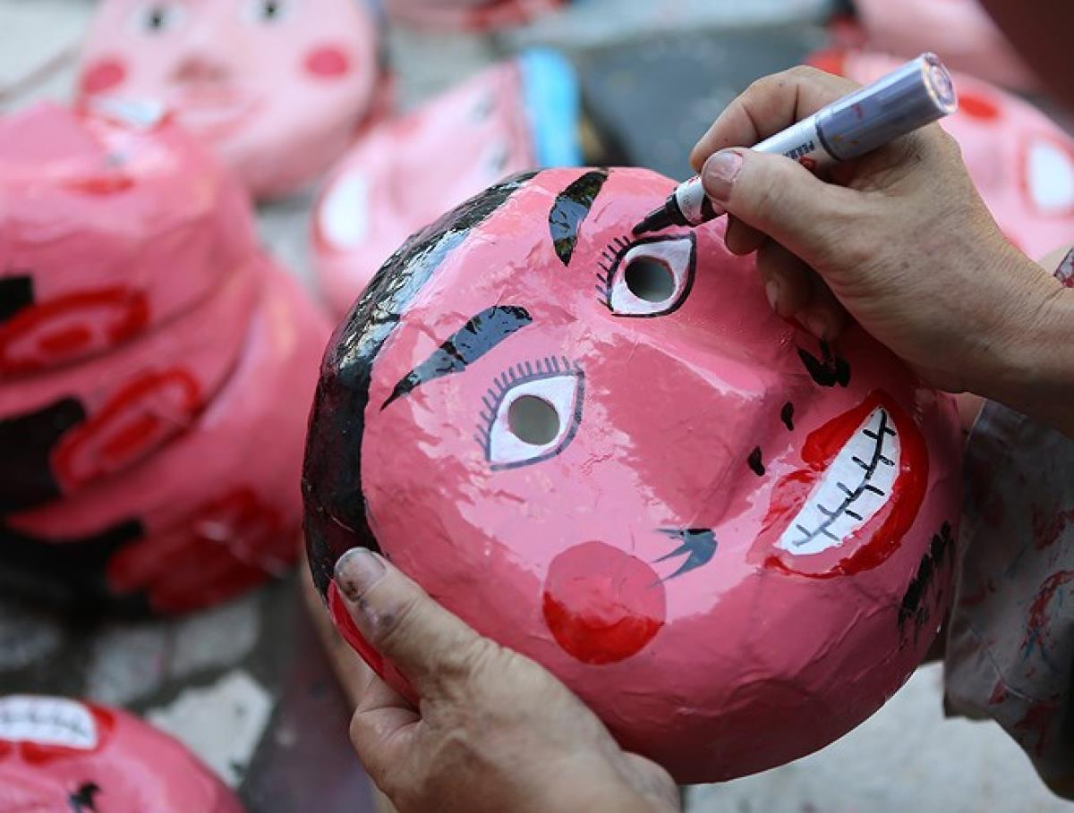 Masks remain a popular aspect of every Mid-Autumn Festival.