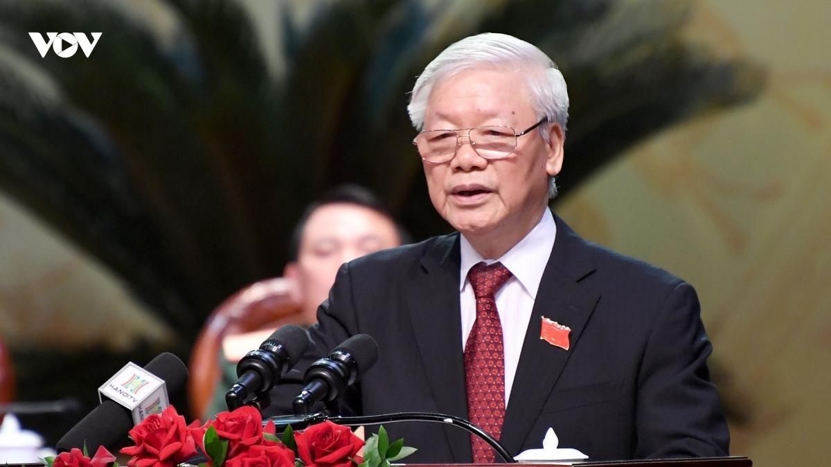 Tổng Bí thư, Chủ tịch nước Nguyễn Phú Trọng. Ảnh: Ngọc Thành