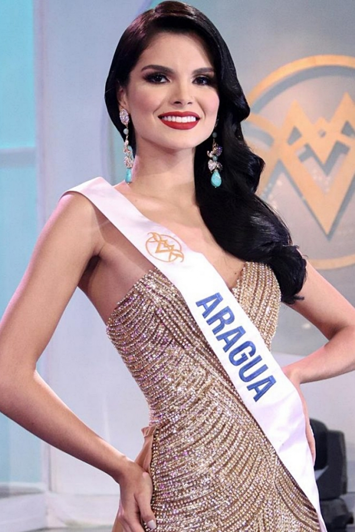 Alejandra Conde was selected as Venezuela's representative for the international beauty contest after recently being named winner of the Miss World Venezuela 2020 pageant.
