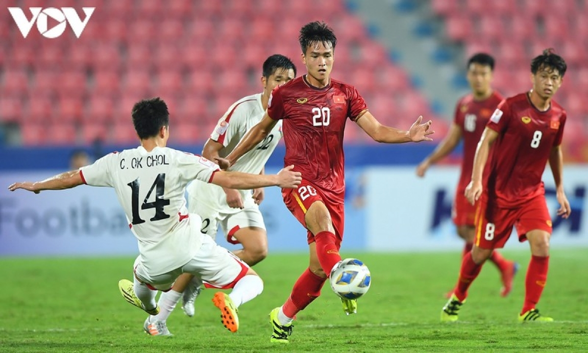 Bui Hoang Viet Anh, 21, of Hanoi FC played as a defender at the AFC U23 Championship 2020. The youngster is expected to develop into a key footballer in future line-ups put out by head coach Park Hang-seo.