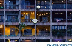 National Geographic UK feature image of cafe apartments of HCM City