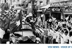 Photos show memories of Hanoi Liberation Day in 1954