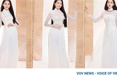 Leading Miss Vietnam contestants shine in Ao Dai photo shoot