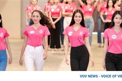Miss Vietnam finalists prepare for fashion competition