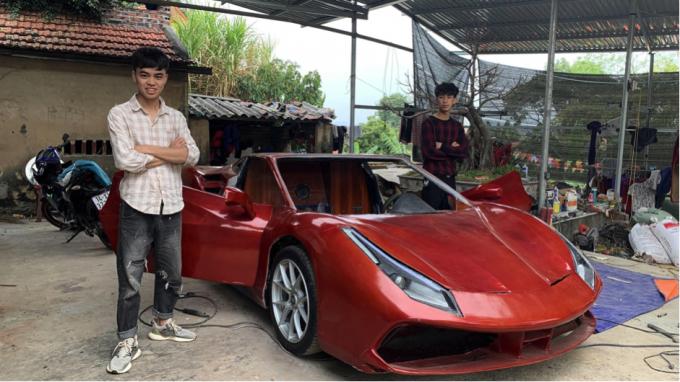 """Cận cảnh chiếc Ferrari 488 GTB """"pha-ke"""" tại Quảng Ninh"""