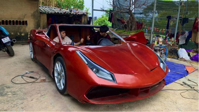 Giá chiếc xe đặc biệt này chỉ… 100 triệu đồng.