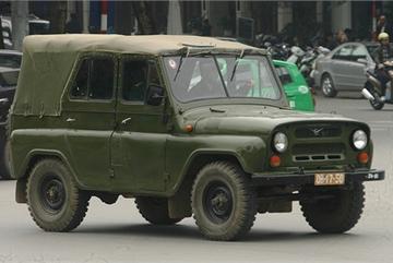 Những chiếc UAZ huyền thoại của Quân đội nhân dân Việt Nam