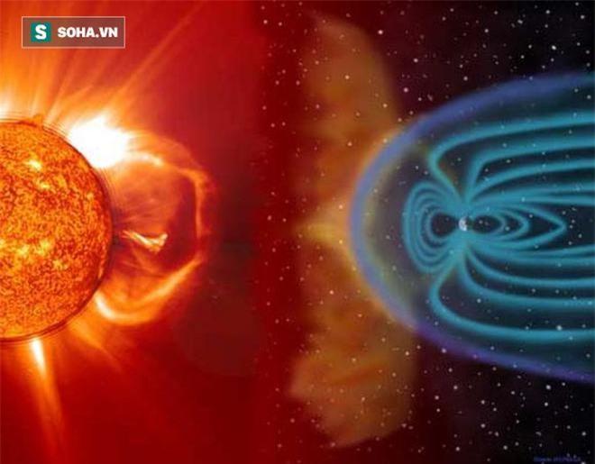 Hình dung này mô tả những gì một sự phóng khối corona có thể trông giống như khi nó tương tác với các lực từ và môi trường liên hành tinh (Nguồn: NASA)
