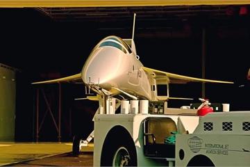 Mỹ trình diễn một máy bay siêu thanh đầy hứa hẹn