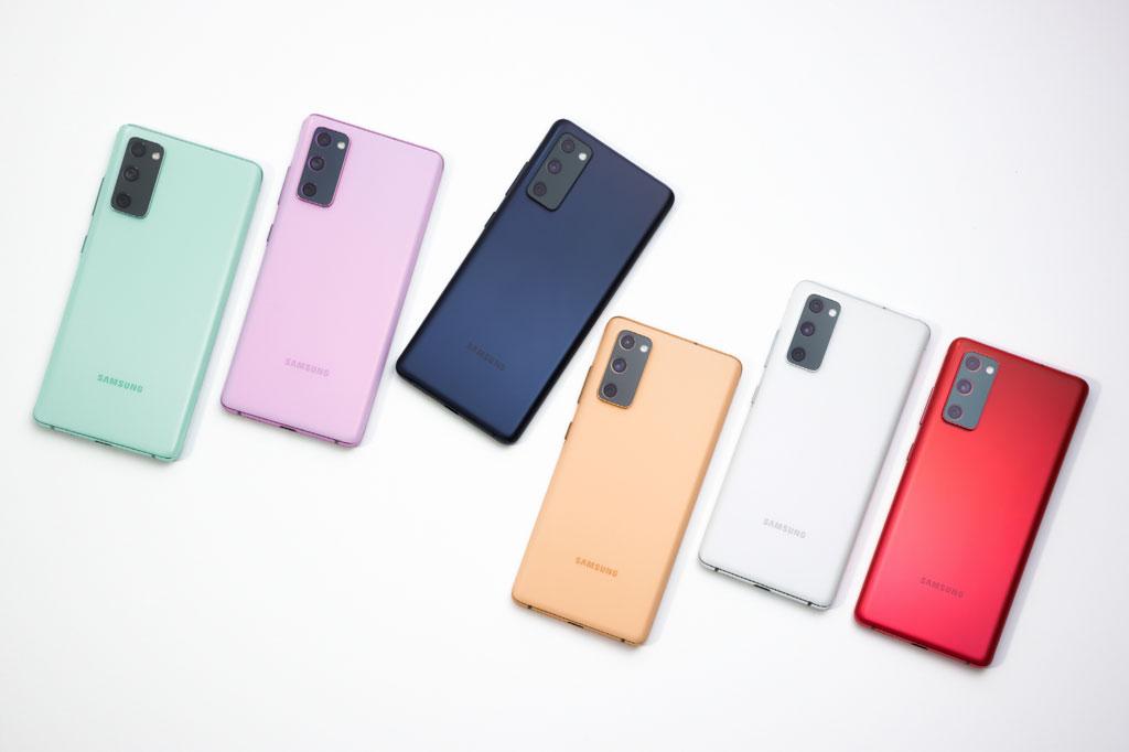 6. Samsung Galaxy S20 FE.