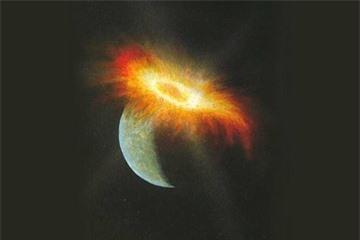 Tin khoa học mới nhất về nguồn gốc hình thành nên trái đất là do các cuộc va chạm vũ trụ