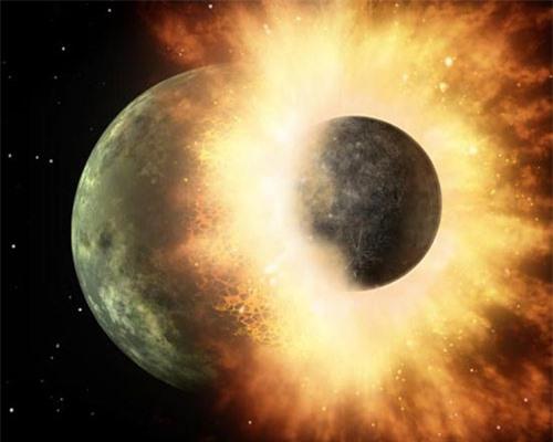 Tin khoa học được biết va chạm vũ trụ tạo ra những trận mưa kim loại trên trái đất