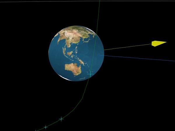 """Tiểu hành tinh """"im hơi lặng tiếng"""" bay qua Trái đất, 6 tiếng sau mới phát hiện ra - Ảnh 1"""