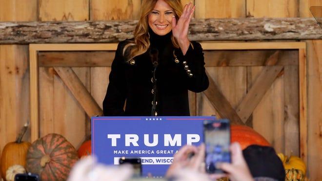 Bầu cử Mỹ 2020: Đệ nhất phu nhân có động thái đặc biệt chưa từng thấy để bảo vệ chồng - Ảnh 1