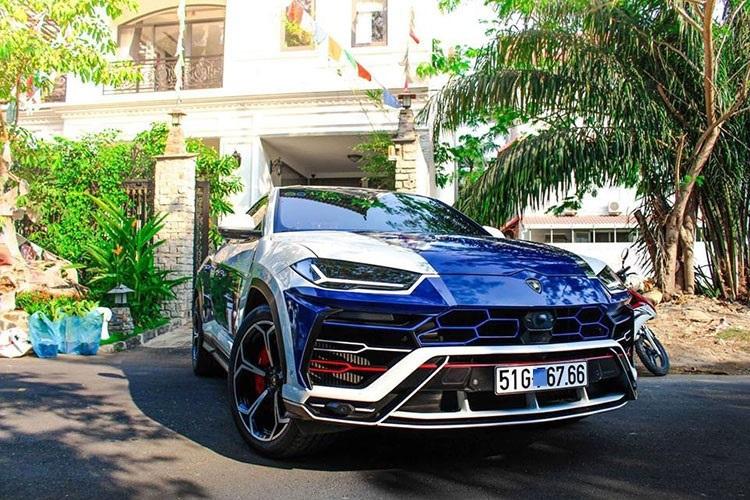 Cận cảnh Lamborghini Urus 23 tỷ độc nhất của đại gia Minh Nhựa2