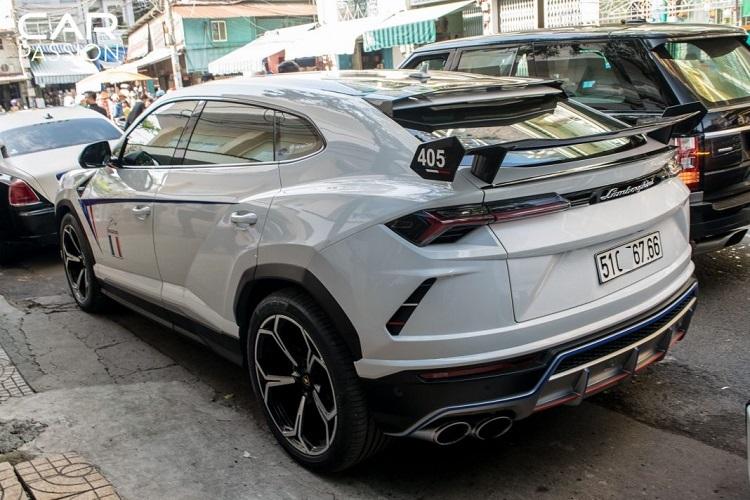 Cận cảnh Lamborghini Urus 23 tỷ độc nhất của đại gia Minh Nhựa4