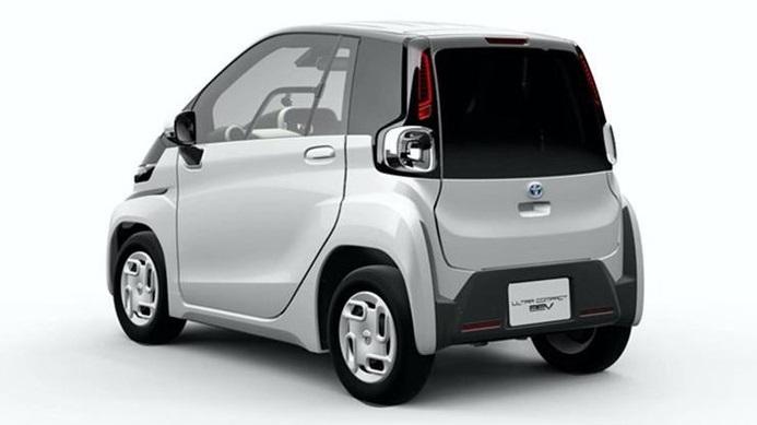 Toyota gây sốt khi ra mắt ôtô điện hai chỗ ngồi siêu tiện lợi2