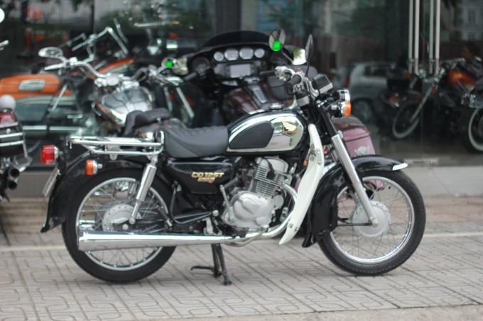 Chiếc xe này là phiên bản cuối cùng của Honda CD125.