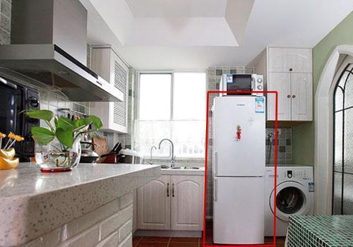 Không nên đặt tủ lạnh quá gần bếp