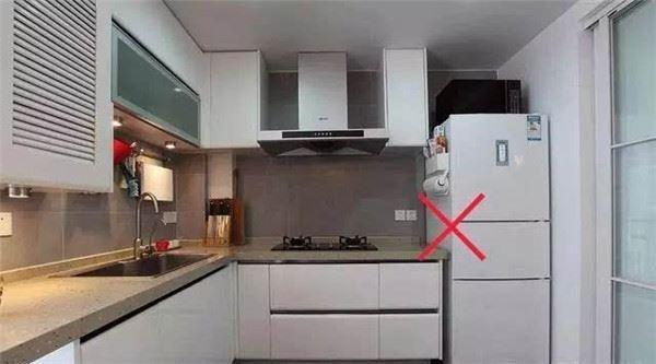 Đặt tủ lạnh không đặt gần nhà vệ sinh
