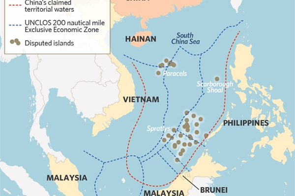 US protests China's unlawful maritime claims at the UN