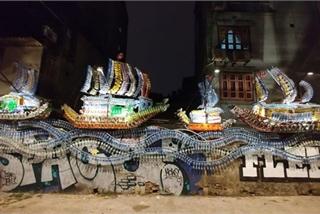 Memories of Hanoi through street paintings