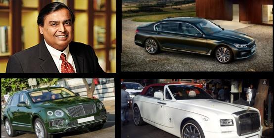 Đáng chú ý, Mukesh Ambani đã dành 6 tầng cho những chiếc siêu xe của mình. Bộ sưu tập siêu xe của ông bao gồm 168 chiếc từ nhiều thương hiệu hàng đầu thế giớ: Mercedes, Bentley, Roll Royces, Aston Martin,… Ambani thậm chí còn có trạm dịch vụ xe hơi riêng trên tầng 7.