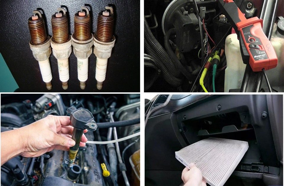 Động cơ xe ô tô cần được quan tâm và bảo hành tốt.