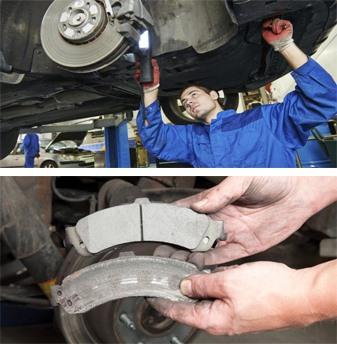 Phanh xe ôtô chạm sàn xuất phát từ nhiều nguyên nhân như có không khí trong đường dây, khe hở trên đường dây phanh hoặc má phanh bị mòn.