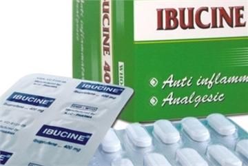 Thu hồi toàn quốc thuốc Ibucine 400 không đạt tiêu chuẩn chất lượng