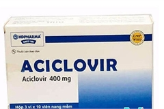 Thu hồi thuốc Aciclovir không đạt tiêu chuẩn chất lượng