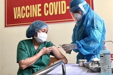 Sáng 19/3, hơn 27.500 người Việt Nam đã tiêm vắc xin COVID-19, không có thêm ca mắc