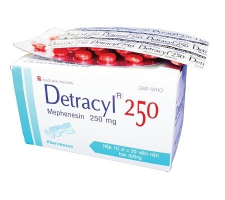 Thu hồi thuốc Detracyl trị bệnh về xương khớp do không đạt chất lượng