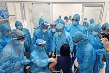 Sáng 9/3, không ca mắc mới, Hà Nội và Gia Lai triển khai tiêm vắc xin phòng COVID-19