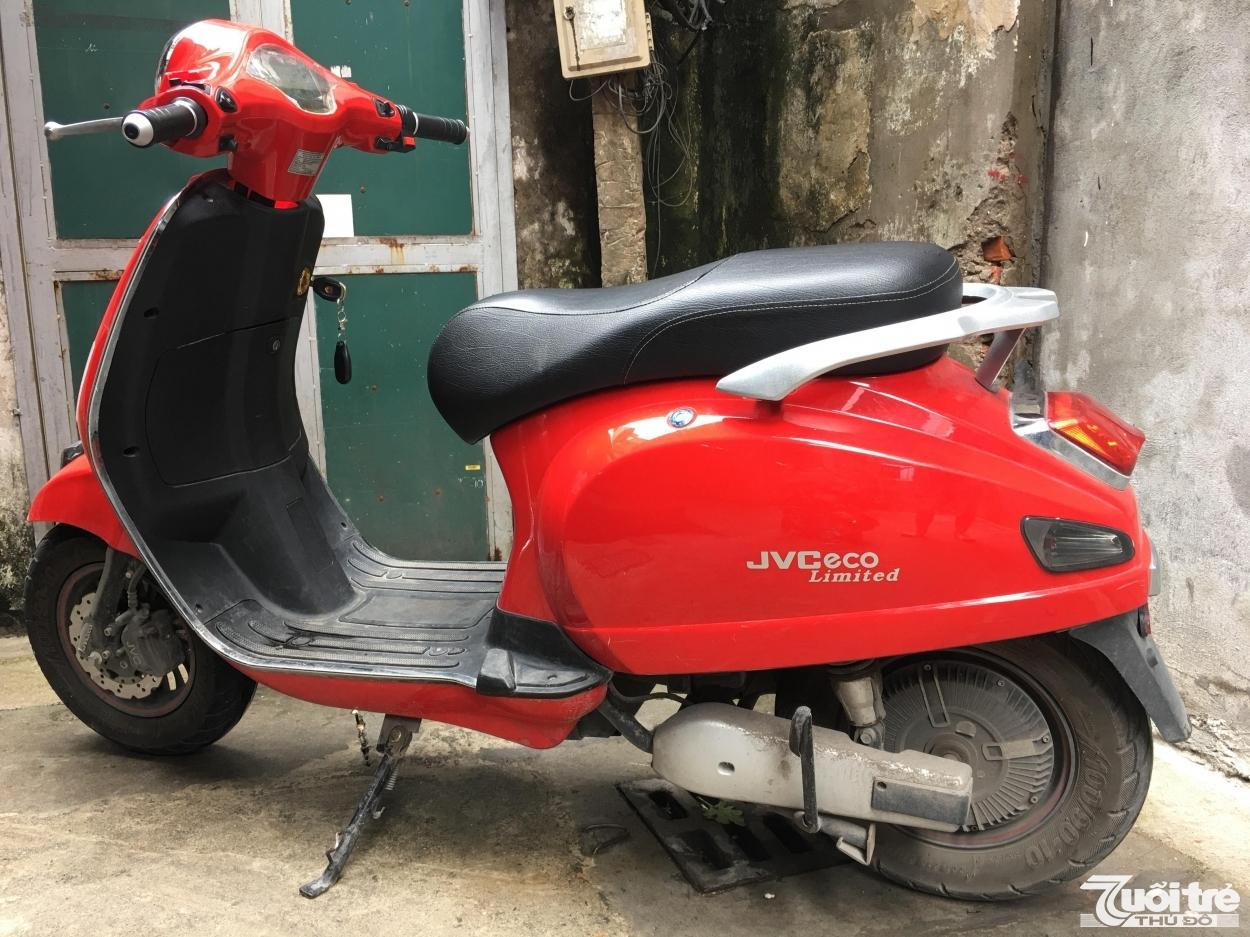 Chiếc xe máy cũ JVCeco mới giá 14.800 nhưng cũ chỉ còn 8.800.000 nghìn đồng