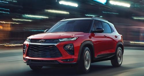 Chevrolet Trailblazer 2021 được ứng dụng những gì?