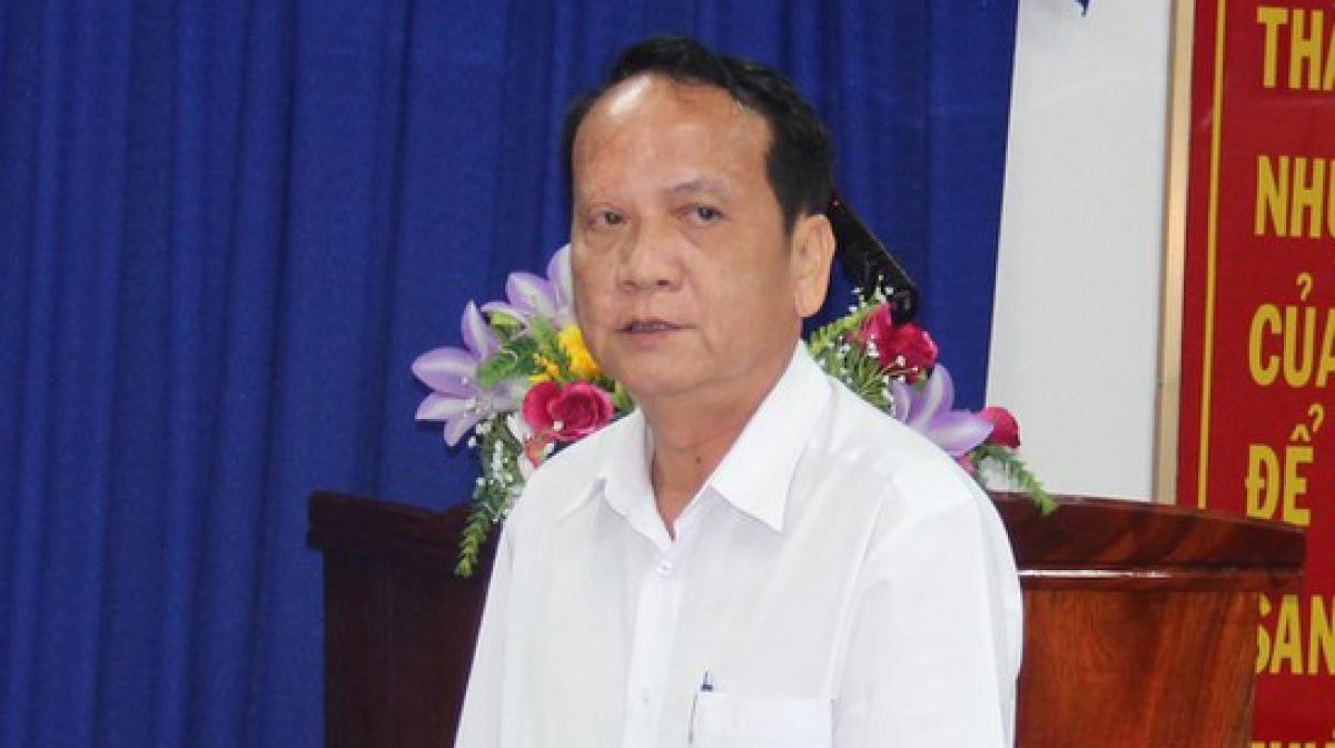 Ông Lê Văn Trang, nguyên Cục trưởng Cục Thuế tỉnh Bình Dương (ảnh: ĐC)
