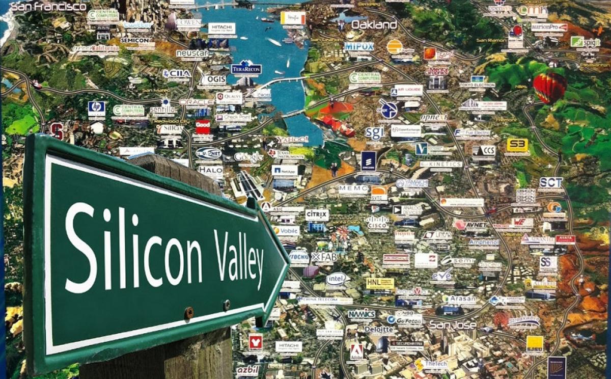 Thung lũng Silicon - nơi ươm mầm của các hạt giống công nghệ