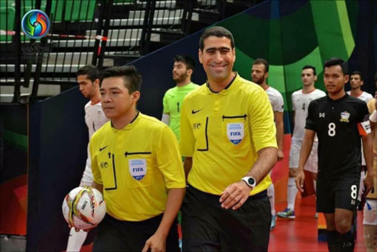 Truong Quoc Dung is chosen among the list of potential referees for the upcoming FIFA Futsal World Cup 2021.