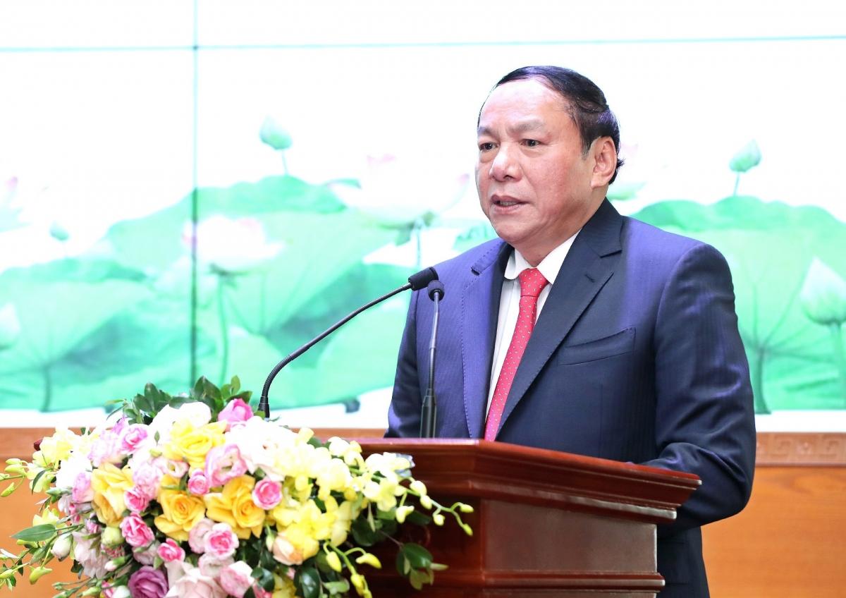 Bộ trưởng Bộ Văn hóa, Thể thao và Du lịch Nguyễn Văn Hùng.